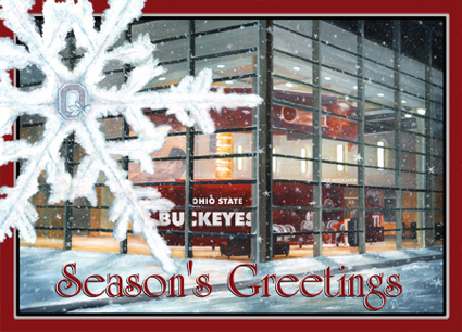 2007 Buckeye Seasons Greetings card blog