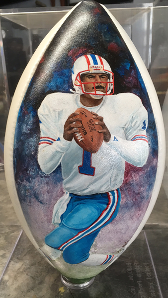 Warren Moon Pigskin portrait