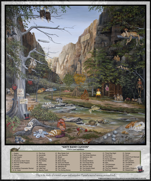 60 Band Canyon Poster web
