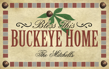 Bless this Buckeye Home 225 wide