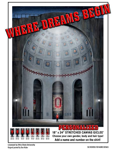 Where Dreams Begin Flyer for blog post