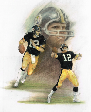 Terry Bradshaw colored pencil 600