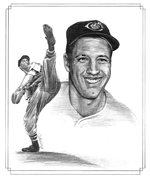 Bob Feller illustration 150
