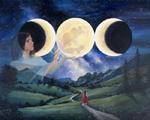 Waxing Moon 150