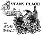 Stan's Place 1988 hog Roast 150