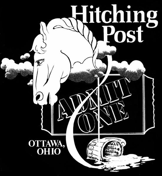Hitching Post Admit one 550