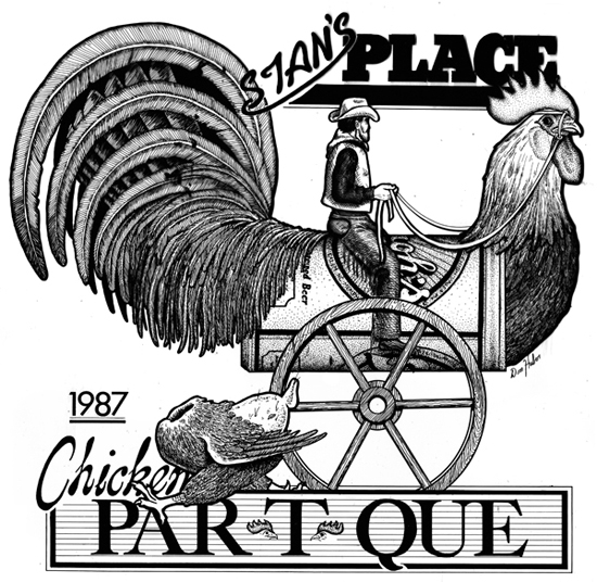 Stans Place Chicken Par T Que 550