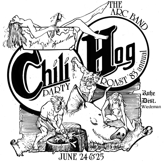 Chili Hog Party 1983 550