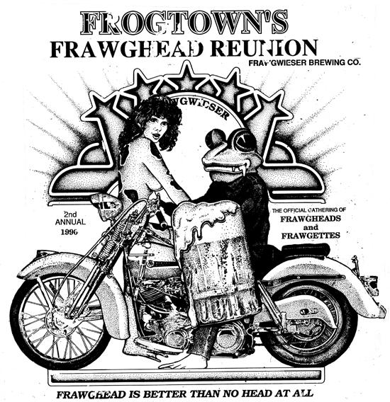 Frawghead reunion 1990 550