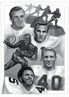 Four Heisman Winners 225