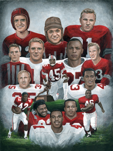 Great Buckeye Tailbacks18 x 24 225