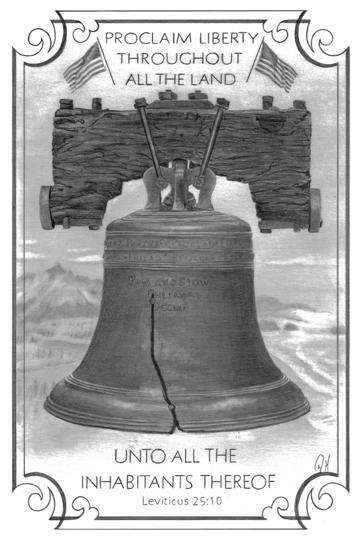 Liberty Bell Facebook 5 x 7