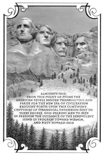 Mt Rushmoore Facebook 5 x 7