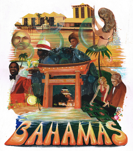 Artex Bahamas convention folder