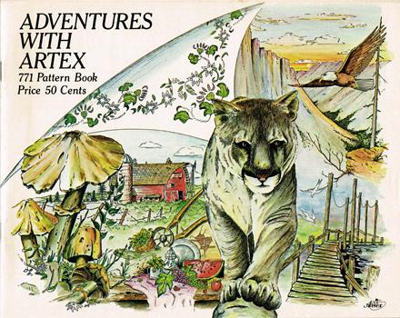Artex catalog cover Mountain lion