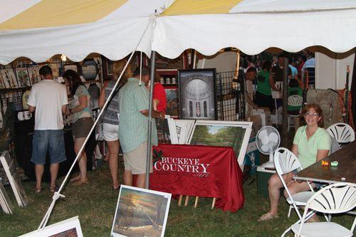 Vintage Wine Fest 2011 Booth